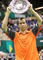 26-2-06, Netherlands, tennis, Rotterdam, Stepanek wins the 33th ABNAMROWTT