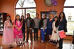 Westside refugees with their teachers (from left): Suk Biswa, Kali Biswa, Hemangi Patel, Lalit Biswa (aka Sagar Shankar), Barun Magar, ESL Assistant Amanda Madrigal, ESL Instructional Specialist Jennifer Can, Purnima Siwa, and Sponsor Sehba Sarwar.
