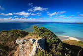 Point de vue au sommet de l'îlot Mato, lagon sud de la Nouvelle-Calédonie