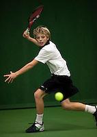 6-12-09, Almere, Tennis, REAAL winterjeugdcircuit,Masters,  Tim van Rijthoven