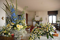 Addobbi floreali.Floral decorations.