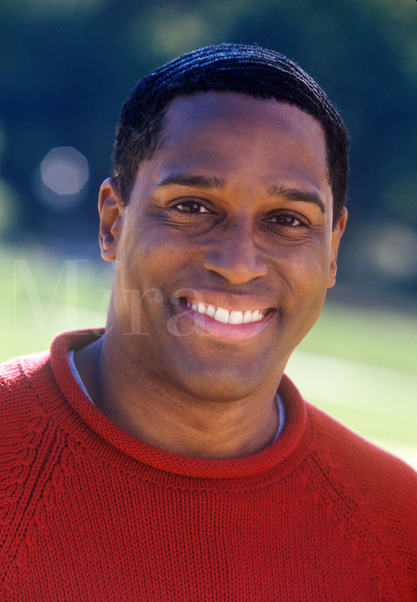 Portrait of smiling young man.