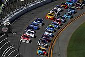2017 NASCAR Cup - Daytona 500<br /> Daytona International Speedway, Daytona, FL USA<br /> Sunday 26 February 2017<br /> Ryan Blaney, Kyle Busch, M&M's Toyota Camry<br /> World Copyright: Michael L. Levitt/LAT Images<br /> ref: Digital Image levitt-0217-D500_45801