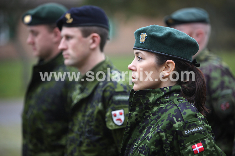 **ALL ROUND PICTURES FROM SOLARPIX.COM**.**SYNDICATION RIGHTS FOR UK AND SPAIN ONLY**.Crown Princess Mary of Denmark has finished her education at the Danish Homeguard  - The Crown Princess started her education in 2008 and has now been appointed as Lieutenant of the Danish Homeguard. Denmark. 19 February 2009.This pic: Crown Princess Mary of Denmark..JOB REF: 8511 CPR (Jensen)     DATE: 19_02_2009.**MUST CREDIT SOLARPIX.COM OR DOUBLE FEE WILL BE CHARGED**.**ONLINE USAGE FEE  GBP 50.00 PER PICTURE - NOTIFICATION OF USAGE TO PHOTO @ SOLARPIX.COM**