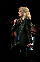 MontrealFile  July 5, 1997, Montreal , Qc, Canada<br /> <br /> Singer Marianne Faithfull in concert during the 1997 Montreal Jazz Festival.<br /> She became famous at 19 when she sang ``As tears goes by`` composed by her (then) boyfriend Mick Jagger.