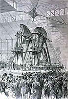 Utopia:  Corliss Engine, Philadelphia 1876.  HARPER'S WEEKLY, 1876.  Photo '74.