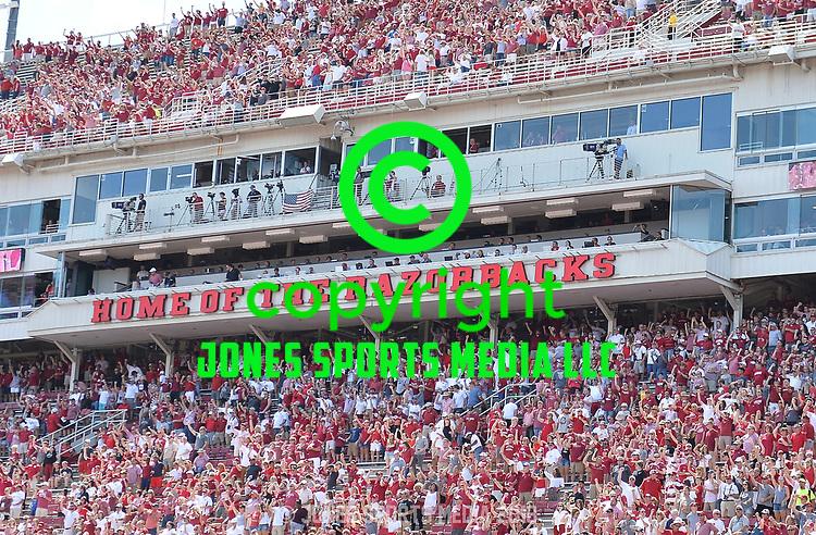 Donald W. Reynolds Razorback Stadium in Fayetteville.