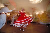 Folkloric Dancers in Old San Juan. San Juan Puerto Rico United States Caribbean.