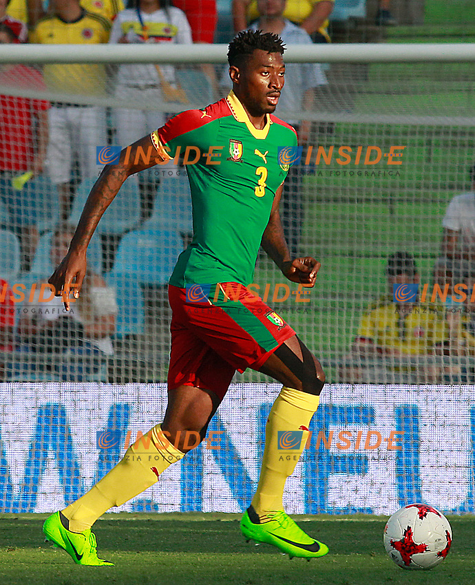 Cameroon's Andre-Frank Zambo Anguissa during international friendly match. June 13,2017.(ALTERPHOTOS/Acero/Insidefoto)<br /> Camerun - Colombia <br /> Foto Acero/Alterphotos/Insidefoto <br /> ITALY ONLY