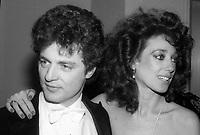 Richard Golub and wife Marisa Berenson 1982<br /> Photo By Adam Scull/PHOTOlink.net