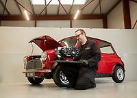 British company has invented a device that can convert classic Mini cars into all-electric vehicles.