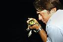 Chef John Besh during a frogging trip, 2005