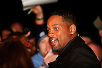 Will Smith promoting his new movie Seven Pounds at AMC Theater in Creve Coeur, MO on Nov 19, 2008.