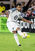 Washington, DC. - Wednesday, September 12, 2018: D.C United defeated Minnesota United FC 2-1 in a MLS match at Audi Field.