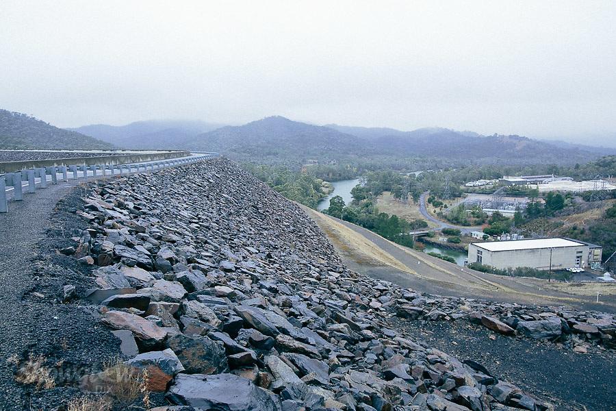 Image Ref: CA305<br /> Location: Lake Eildon, Dam Wall<br /> Date of Shot: 15.04.18