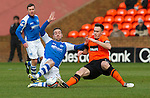 Dundee Utd v St Johnstone..26.12.12      SPL.Steven MacLean and Keith Watson.Picture by Graeme Hart..Copyright Perthshire Picture Agency.Tel: 01738 623350  Mobile: 07990 594431