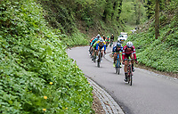 breakaway group speeding down<br /> <br /> 52nd Amstel Gold Race (1.UWT)<br /> 1 Day Race: Maastricht › Berg en Terblijt (264km)
