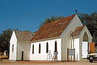 St. Luke's Episcopal Church, Jolon CA. Late 19th century.  Photo '85.