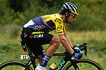 The peloton including Primoz Roglic (SLO) Team Jumbo-Visma climb Col de Marie Blanque during Stage 9 of Tour de France 2020, running 153km from Pau to Laruns, France. 6th September 2020. <br /> Picture: ASO/Alex Broadway   Cyclefile<br /> All photos usage must carry mandatory copyright credit (© Cyclefile   ASO/Alex Broadway)