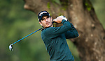 Jose Alejandro Canizares in action during Round 2 of the UBS Hong Kong Golf Open 2011 at Fanling Golf Course in Hong Kong on 1st December 2011. Photo © Andy Jones / The Power of Sport Images