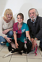 06/01/16<br /> <br /> Judith and Alan Gray with Veterinary Nurse Nikola Capell-Turner and Holly at the PDSA Pet Hospital in Leicester.<br /> <br /> Holly is an 18-month-old Border Collie who was brought into PDSA's Leicester Pet Hospital suffering with acute peritonitis. Her chances of survival were as low as 1 in 10 but thanks to the tireless efforts of staff and three life-saving operations, Holly pulled through and is on the road to making a full recovery. Mr and Mrs Gray are extremely grateful for the care given by PDSA and their son Tim has even started a fundraising challenge – a dryathlon in January – to raise money for the charity.<br /> <br /> All Rights Reserved: F Stop Press Ltd. +44(0)1335 418365   +44 (0)7765 242650 www.fstoppress.com