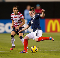 Emma Mitchell.  The USWNT defeated Scotland, 4-1, during a friendly at EverBank Field in Jacksonville, Florida.