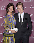 Sophie Hunter and Benedict Cumberbatch attends The The 26th Annual Palm Springs International Film Festival in Palm Springs, California on January 03,2015                                                                               © 2014 Hollywood Press Agency
