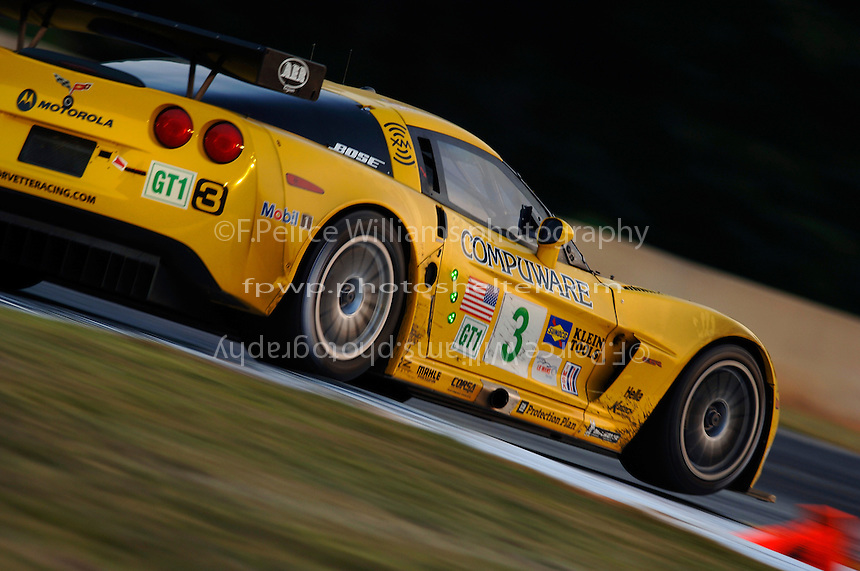 The #3 Corvette...Copyright©F.Peirce Williams 2005.ref.Digital Image Only