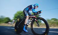 Daniel Martin (IRL)<br /> <br /> Tour de France 2013<br /> stage 11: iTT Avranches - Mont Saint-Michel <br /> 33km