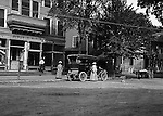 Southwestern Ohio:  Brady Stewart traveled to Southwestern Ohio to visit his Uncle and Aunt (Brady). He went with his Aunt to the Post Office in the new 1906 Buick.