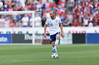 SANDY, UT - JUNE 10: Team Ream #13 of the United States during a game between Costa Rica and USMNT at Rio Tinto Stadium on June 10, 2021 in Sandy, Utah.