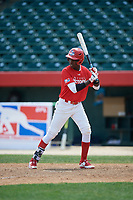 Felix Taveras (16) during the Dominican Prospect League Elite Underclass International Series, powered by Baseball Factory, on August 2, 2017 at Silver Cross Field in Joliet, Illinois.  (Mike Janes/Four Seam Images)