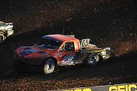 Dec. 10, 2011; Chandler, AZ, USA;  LOORRS pro 2 unlimited driver Phil Bollman during round 15 at Firebird International Raceway. Mandatory Credit: Mark J. Rebilas-