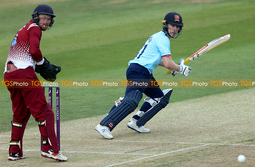 Adam Wheater of Essex in batting action during Essex Eagles vs Cambridgeshire CCC, Domestic One-Day Cricket Match at The Cloudfm County Ground on 20th July 2021