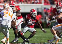 Athens, GA - October 1, 2016: The Georgia Bulldogs vs the Tennessee Volunteers at Sanford Stadium.