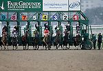 January 2010: The start of the 66th Lecomte Stakes at the Fairgrounds in New Orleans, La.