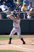 July 18, 2010: Eugene Emeralds' Tyler Stubblefield at-bat during a Northwest League game against the Everett AquaSox at Everett Memorial Stadium in Everett, Washington.