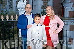 Jan Kuleszewicz from Moyderwell NS receiving his First Holy Communion on Saturday with his parents Maria and Lukasz Kuleszewicz in St Johns Church.