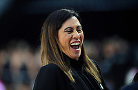 Silver Ferns coach Noeline Taurua during the Cadbury Netball Series match between NZ Silver Ferns and NZ Men at the Fly Palmy Arena in Palmerston North, New Zealand on Thursday, 22 October 2020. Photo: Dave Lintott / lintottphoto.co.nz