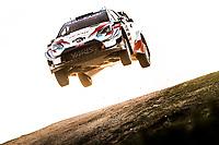 10th October 2020, Alghero, Sardinia, Italy; WRC Rally of Sardinia;   Rovampera airborne