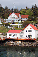 Orcas Village, Orcas Island, San Juan Islands, Washington, USA