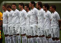 080702 International Football - NZ Oly-Whites v Chile Under-23