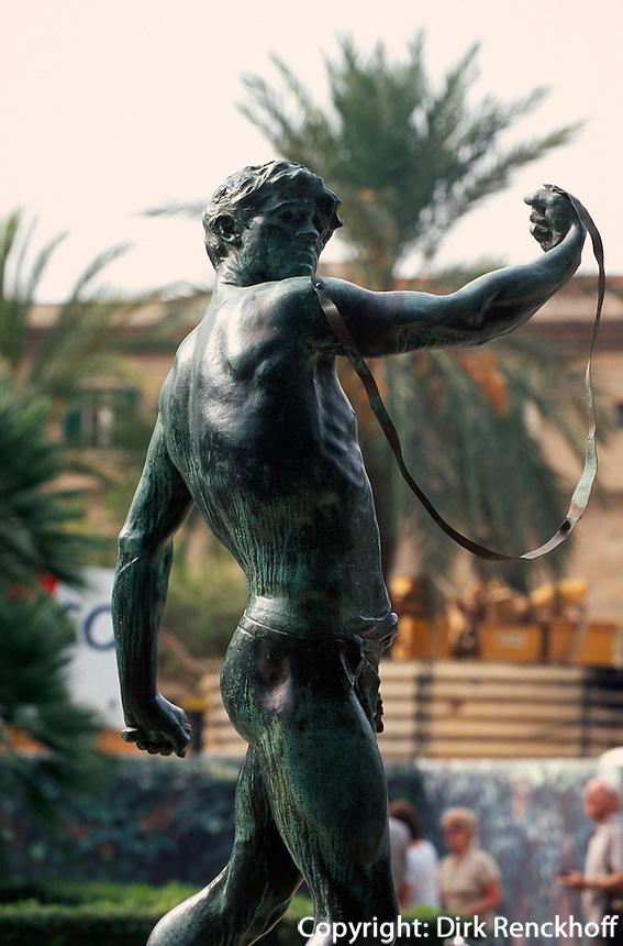 Spanien, Mallorca, königliche Gärten Hort del Rei in Palma de Mallorca