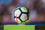 The official ball Nike Ordem 5 is seen prior to the La Liga 2017-18 match between Real Madrid and Deportivo Alaves  at Santiago Bernabeu Stadium on February 24 2018 in Madrid, Spain. Photo by Diego Souto / Power Sport Images
