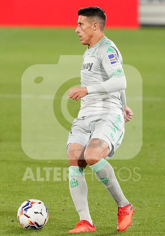 Real Betis Balompie's Cristian Tello during La Liga match. September 29,2020. (ALTERPHOTOS/Acero)