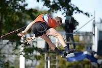 FIERLJEPPEN: BURGUM: 19-09-2020, NK Fierljeppen, Jaco de Groot, ©foto Martin de Jong