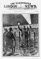BNPS.co.uk (01202 558833)<br /> Pic: Pen&Sword/BNPS<br /> <br /> Pictured: The Illustrated London News of 9 January 1915.<br /> <br /> Previously unseen accounts of the First World War Christmas Day truce from the German side have come to light over 100 years on.<br /> <br /> British historian Anthony Richards has pored over hundreds of German diaries to shed new light on the temporary ceasefire in 1914.<br /> <br /> The fascinating accounts include one by a soldier who described the truce as a 'miracle' and called enemy troops his 'brothers'.