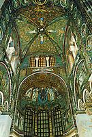 Ravenna: Church of San Vitale--interior.