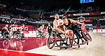Nikola Goncin, Tokyo 2020 - Wheelchair Basketball // Basketball en fauteuil roulant.<br /> Canada takes on Japan in a men's preliminary game // Le Canada affronte le Japon dans un match préliminaire masculin. 28/08/2021.