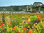 Suislaw River Bridge, Florence, Oregon Coast